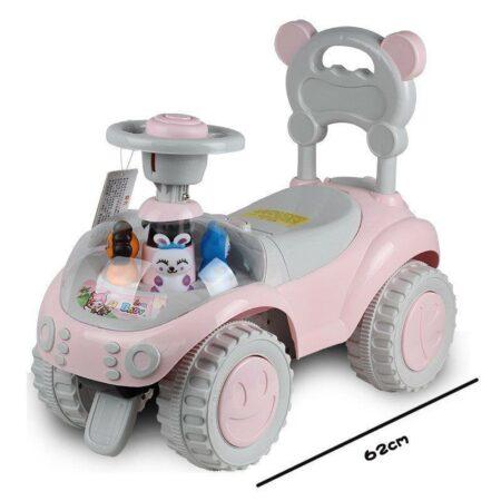 Antemergator masinuta Ferma Animalelor – culoarea roz