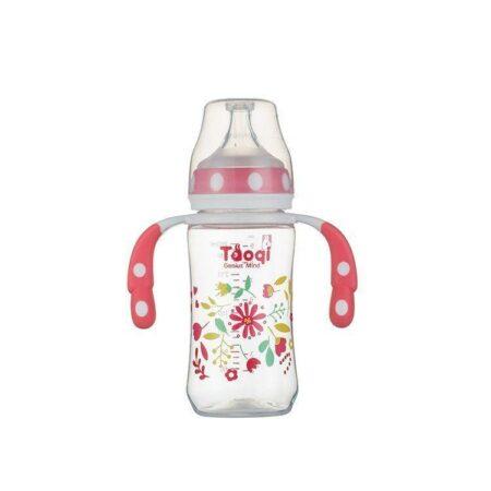 Biberon anticolici 260 ML FLUX L – culoarea roz