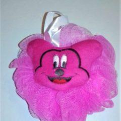 Burete pentru baita cu figurine – culoarea roz
