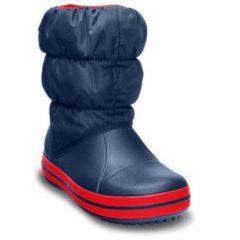 Cizme iarna Crocs – culoarea albastru navy-rosu
