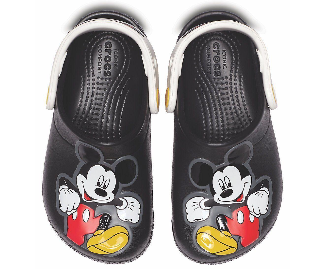Crocs Fun Lab Mickey Clog K – culoarea negru