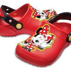 Crocs Fun Lab Mickey Clog K – culoarea rosu