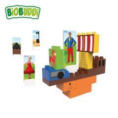 Cuburi din plastic vegetal Juf roos- Boat BB-0112