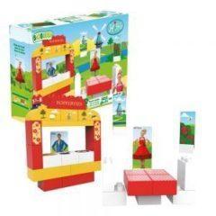 Cuburi din plastic vegetal Juf roos- Desk BB-0115