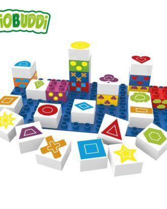 Cuburi din plastic vegetal Learning symbols BB-0004