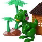 Ferma animalelor Dino - culoare verde