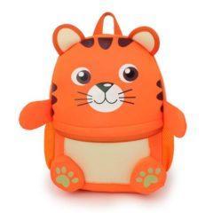Ghiozdan 3d animals – culoarea portocaliu