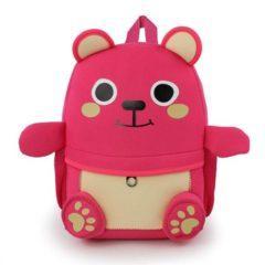 Ghiozdan 3d animals – culoarea roz