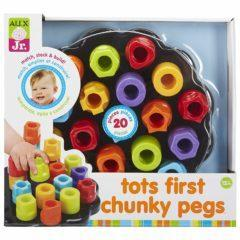 Joc forme colorate CHUNKY PEGS