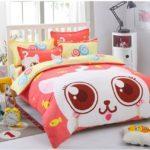 Lenjerie de pat pentru copii - imprimeu pisicuta