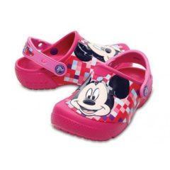 Papuci Crocs Mickey copii – culoarea roz