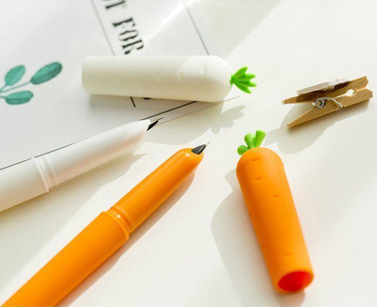 Stilou colorat Morcovel – culoarea alb