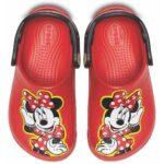 Crocs Fun Lab Mickey Clog K - culoarea rosu