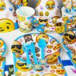 Set petrecere Emoji - 16 piese