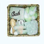 Set cadou baie - culoarea verde