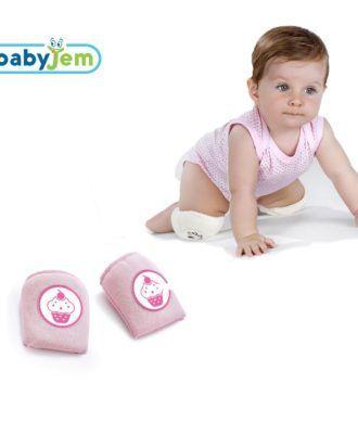 Genunchere pentru bebelusi – culoarea roz