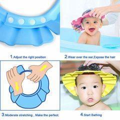 Palarie pentru baie – culoarea bleu