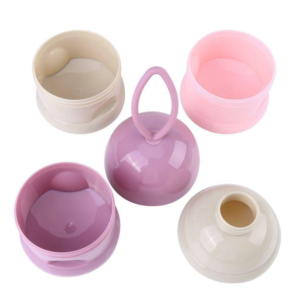 Recipient dozare lapte praf – culoarea roz2