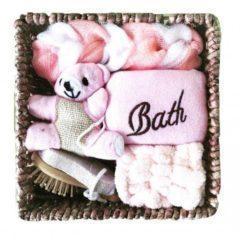 Set cadou baie – culoarea roz