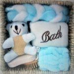 Set cadou baie - culoarea bleu