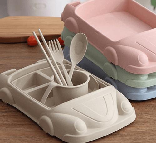 Set servirea mesei Car - culoarea crem 1