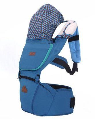 Marsupiu ergonomic Aiebao Hipseat– culoarea turqoise