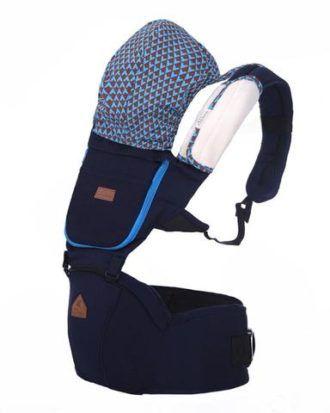 Marsupiu ergonomic Aiebao Hipseat- culoarea albastru
