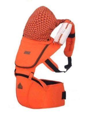 Marsupiu ergonomic Aiebao Hipseat- culoarea portocaliu