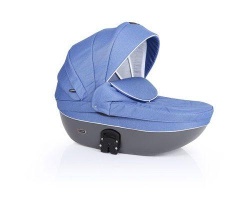 Carucior 3 in 1 Mila – culoarea albastru