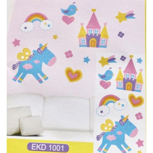 Sticker perete 3D- EKD – 1001