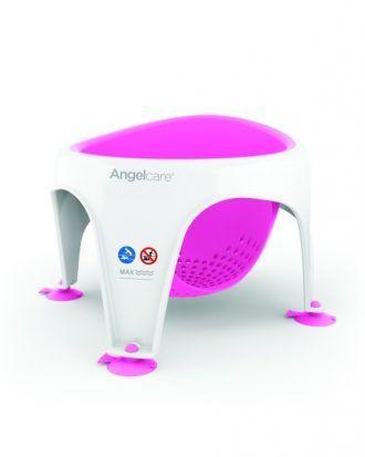 Acest scaunel este solutia ideala pentru baita bebelusilor intre 6 si 10 luni. Scaunul de baie Angel Soft Touch asigura confort si stabilitate atunci cand bebelusul face baita.