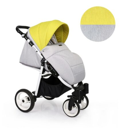Carucior Sport Foxter – culoarea galben