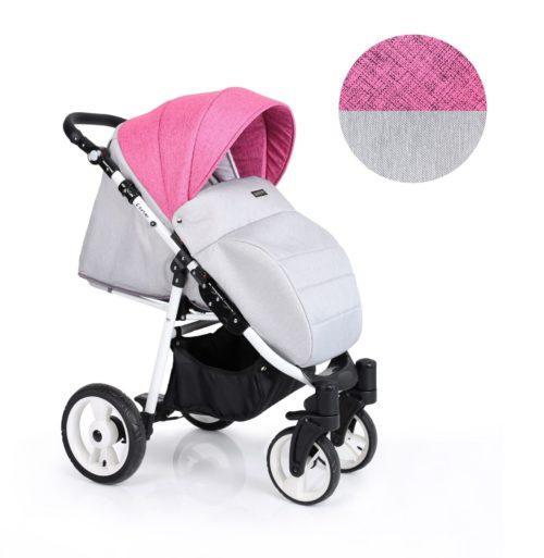 Carucior Sport Foxter – culoarea roz
