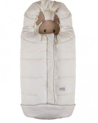 Nuvita Cuccioli sac de iarna 100 cm – Rabbit Beige – 9605