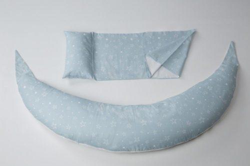 Nuvita DreamWizard perna gravide si alaptare – gri cu stelute 7100