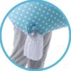 Nuvita FeedFriend Perna pentru alaptare 5300 - Boy Blue