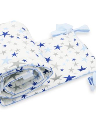 Aparatori laterale pentru patut – Blue Stars