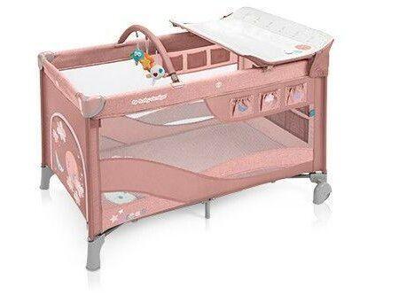 Baby Design Dream 08 Pink 2019 – Patut Pliabil cu 2 nivele