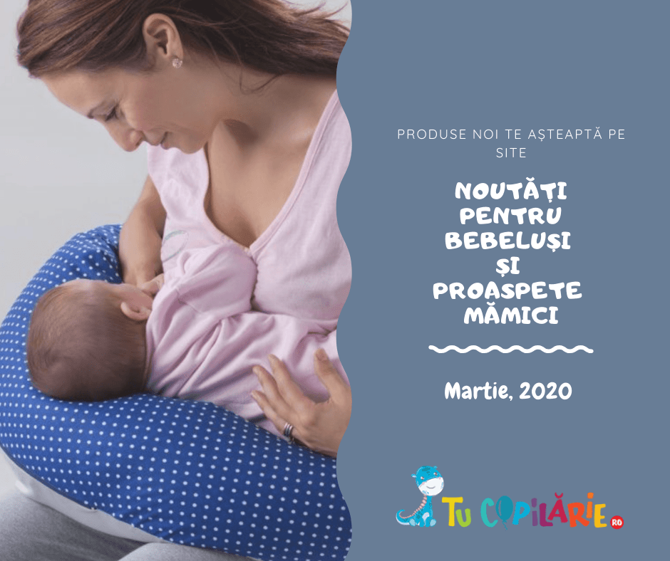 Noutati pentru bebelusi si mamici