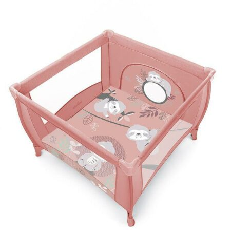 Baby Design Play tarc de joaca pliabil – 08 Pink 2020