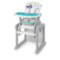 Scaun de masa multifunctional 2 in 1 Baby Design Candy 05 turquoise 2017