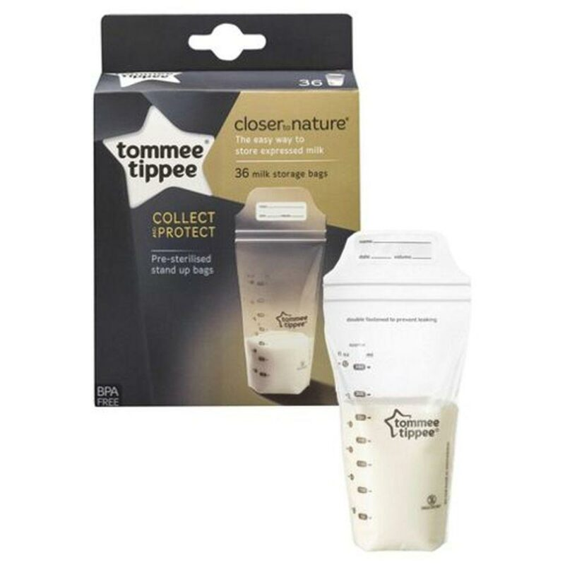 Pungi de stocare lapte matern Closer to Nature, Tommee Tippee, 36 buc 1