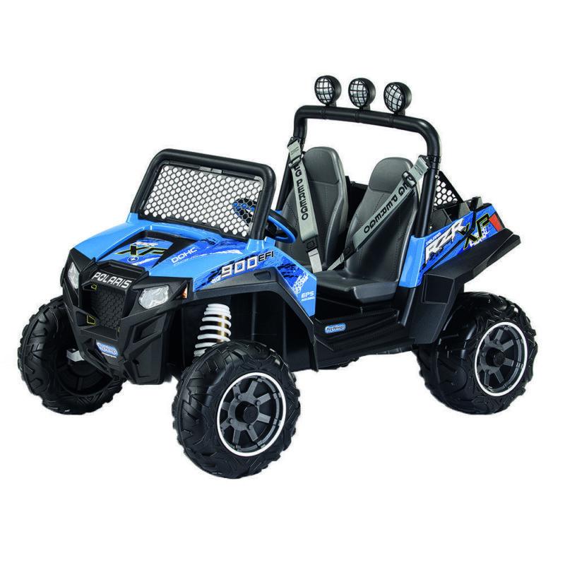 Polaris Ranger RZR 900, Peg Perego, Blue 1