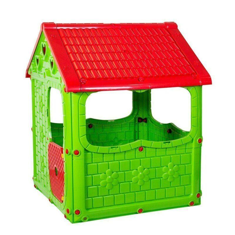 Casuta de joaca pentru copii Tomy   verde 1