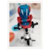 Tricicleta multifunctionala din piele ecologica LIAN JOY | rosu si albastru | Produs resigilat 4