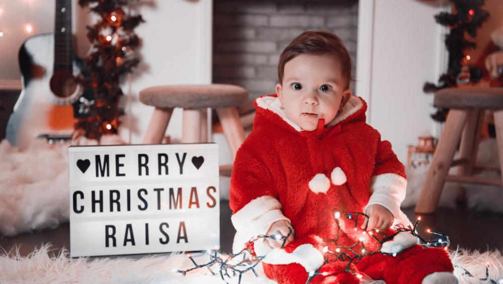 Primul Crăciun cu bebe 8
