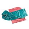 Păturică dublă bebeluși   Catifea Turquoise 6